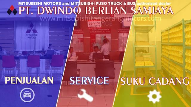 PT. Dwindo Berlian Samjaya Tangerang Selatan, Banten dealer resmi Mitsubishi di Tangerang