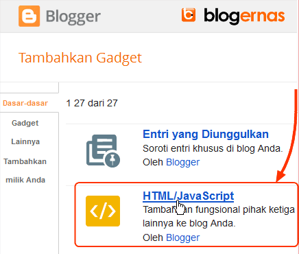 Cara Menayangkan Video YouTobe di Sidebar Blog