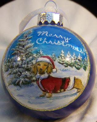 Dachshund in a Santa Suit