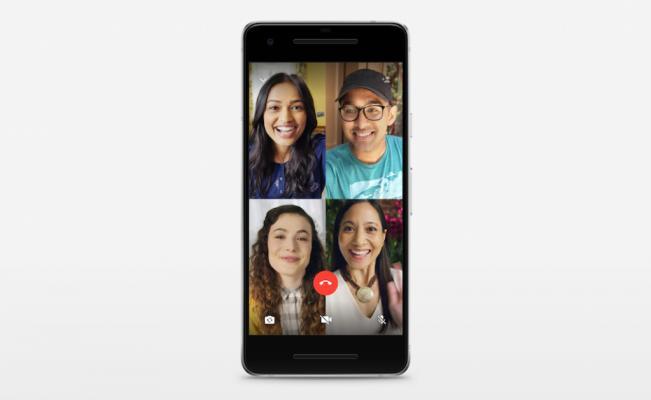 Ahora puedes hacer videollamadas grupales en WhatsApp