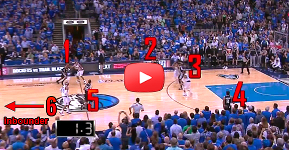 Spurs Had 6 Players on Court for Crucial Play vs. Mavs (VIDEO)