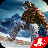 ႏွင္းေလွ်ာ စကိတ္ၿပိုင္စီး ဂိမ္းေကာင္းေလး - Snowboard Party MOD APK Unlocked