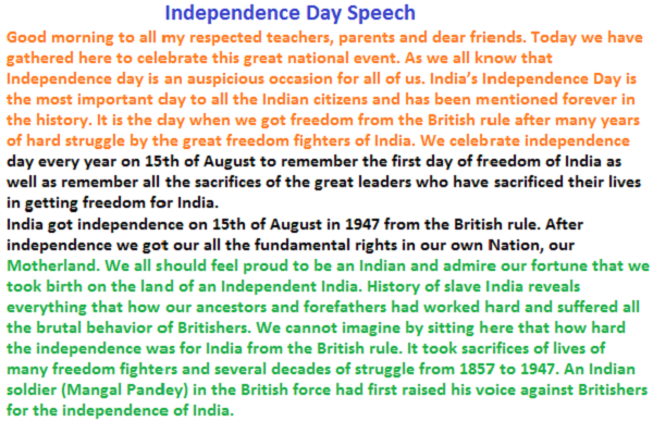 essay on the independence day for kids essay independence day for kids
