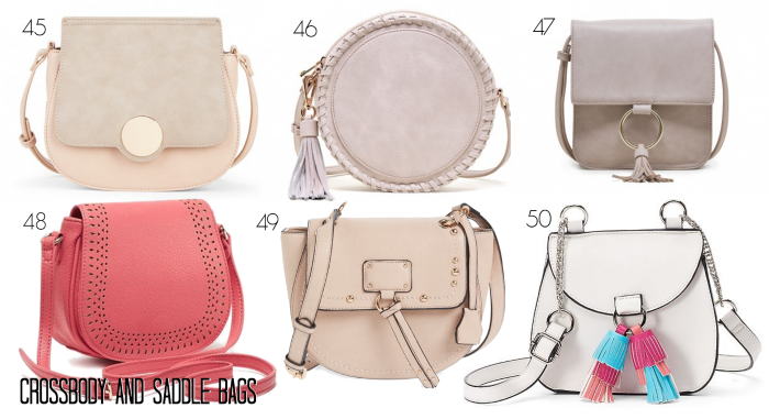 Spring Crossbody Bags Saddle Bags under $50