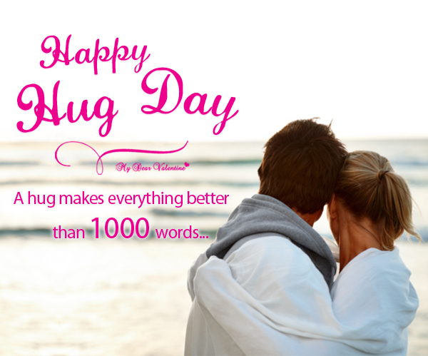 how to celebrate hug day