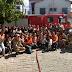 Simulado de evacuação para casos de emergência é realizado na Escola Municipal João Torres em Arraial do Cabo