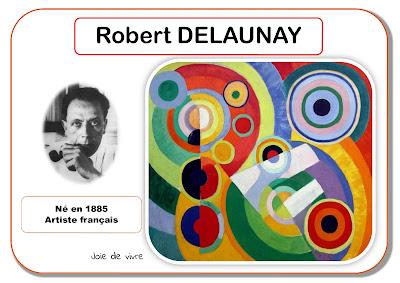 Robert Delaunay - Portrait d'artiste en maternelle