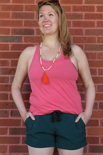 lululemon yogi-everyday-tank fireside-red