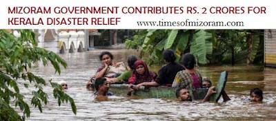 Mizoram donates 2 crore