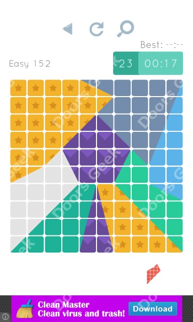 Cheats, Walkthrough for Blocks and Shapes Level 152
