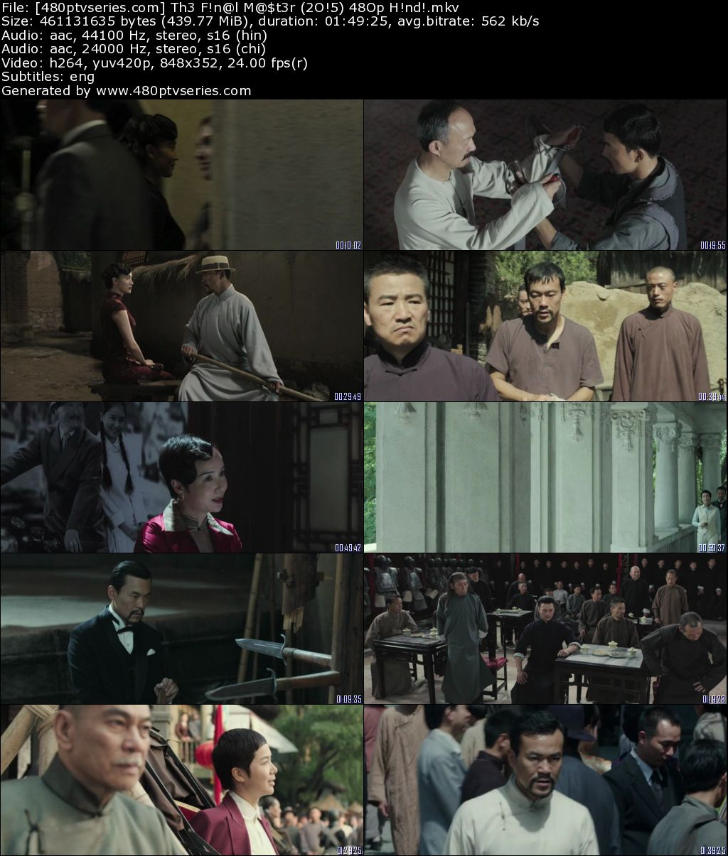 The Final Master (2015) 450MB Full Hindi Dual Audio Movie Download 480p Bluray Free Watch Online Full Movie Download Worldfree4u 9xmovies