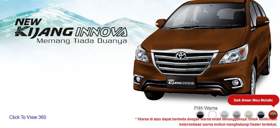 Pilihan Warna All New Kijang Innova Harga Grand Avanza Second Toyota Madura Sangat Banyak Penggunannya Bagi Anda Calon Konsumen Yang Ingin Membeli Ada Beberapa Sesuai Kesukaan