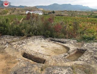Lagar medieval de la Rioja Alavesa