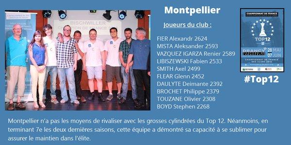L'équipe d'échecs de Montpellier a toujours démontré sa capacité à se sublimer pour rester dans l'élite - Illustration © FFE