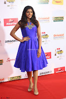 Eesha in Cute Blue Sleevelss Short Frock at Mirchi Music Awards South 2017 ~  Exclusive Celebrities Galleries 072.JPG
