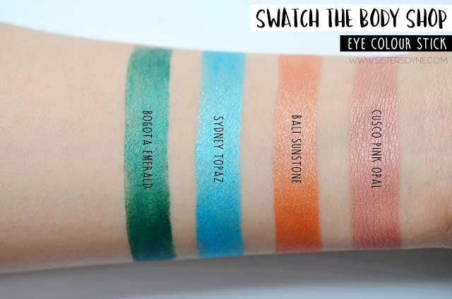The Body Shop Eye Colour Stick Swatch