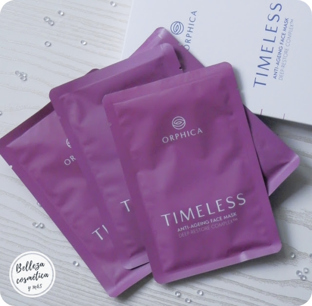 mascarilla antiedad timeless orphica review