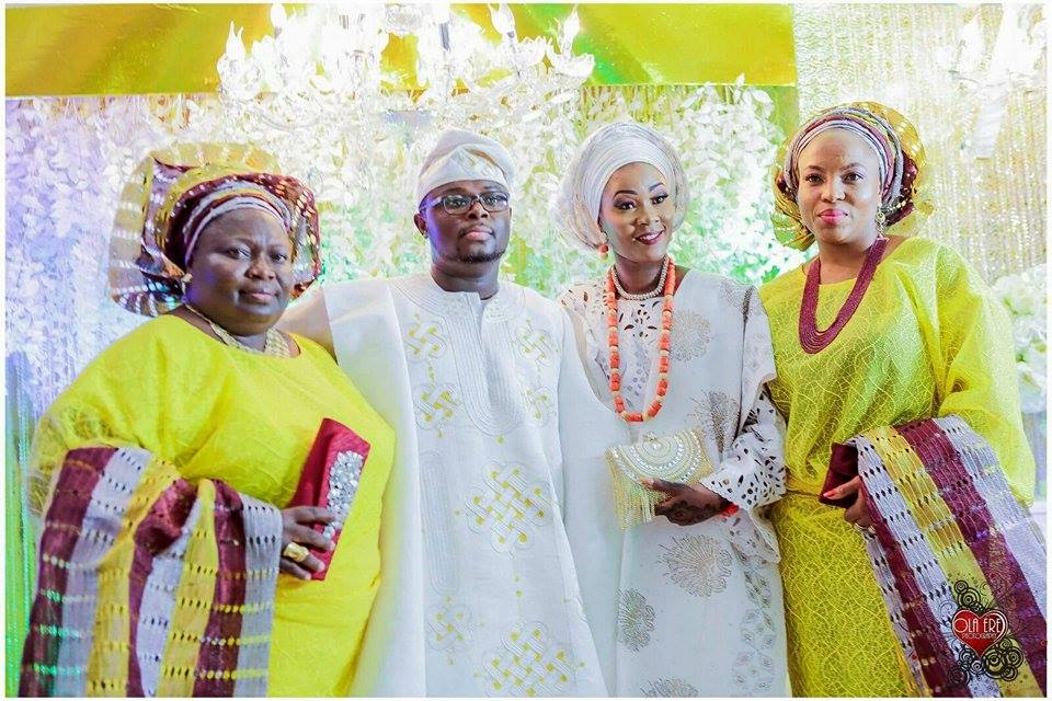 Tolu and Gbenga Traditional Wedding Pictures  My Nigerian