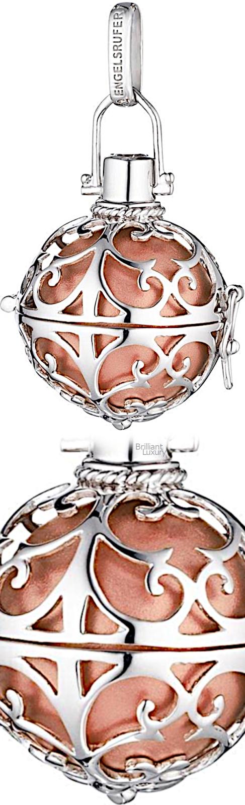 Brilliant Luxury♦Engelsufer 'Calling an Angel' pendant