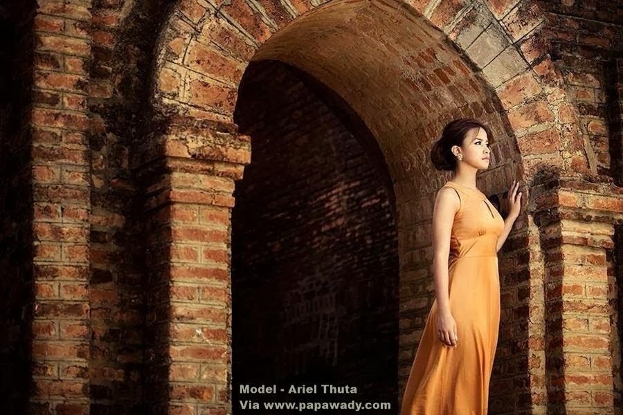 Ariel Thuta - Beautiful Girl in Bagan