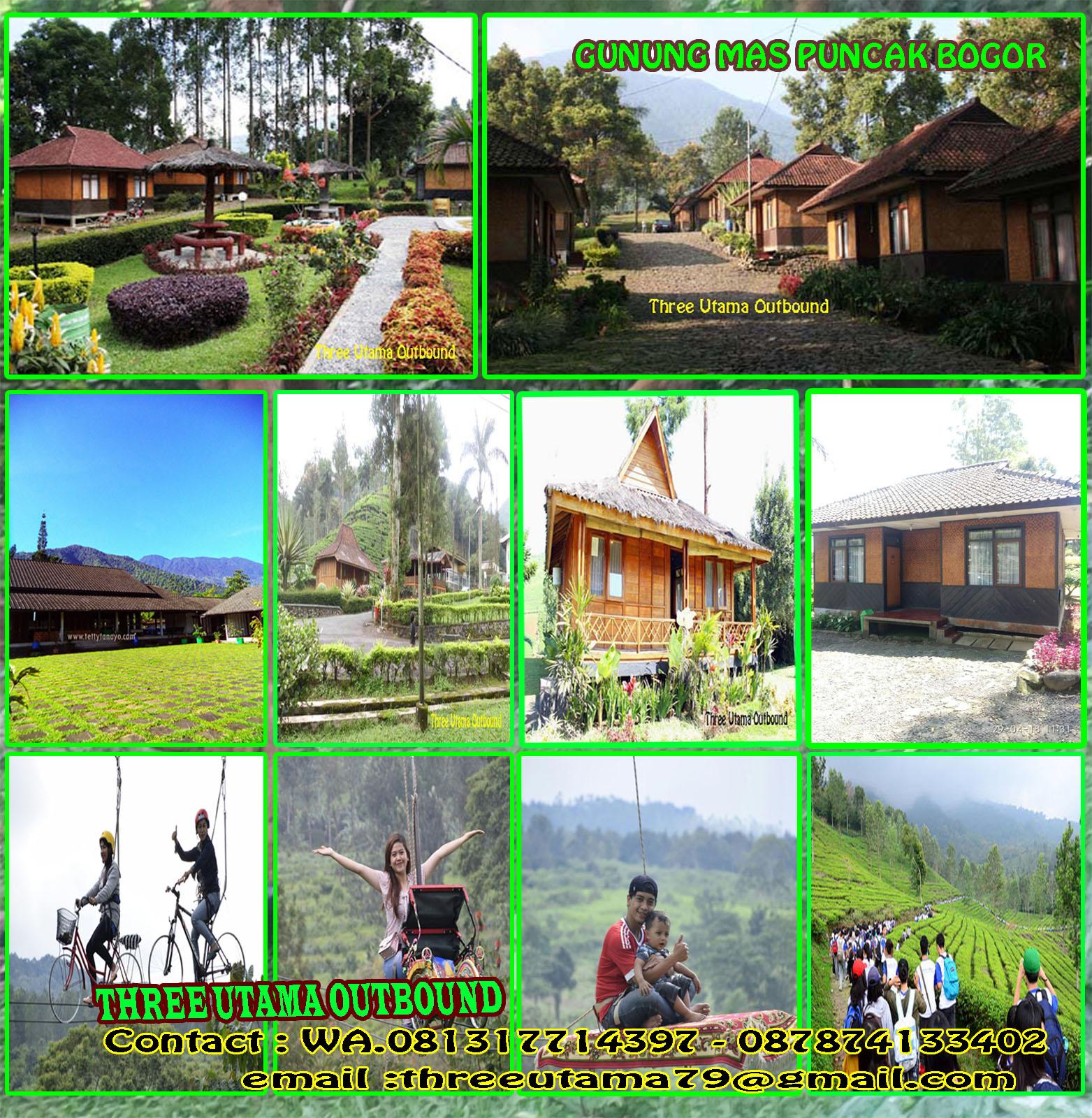 Outbound Murah Puncak Gunung Mas Paket Wisata Gunung Mas