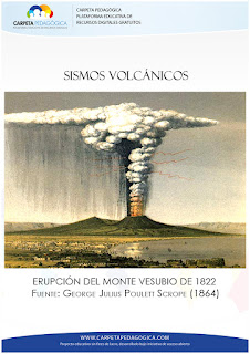 Monte Vesubio en 1822