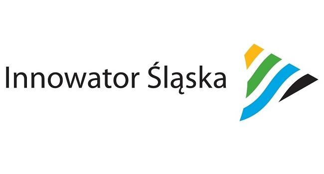 Logo konkursu Innowator Śląska