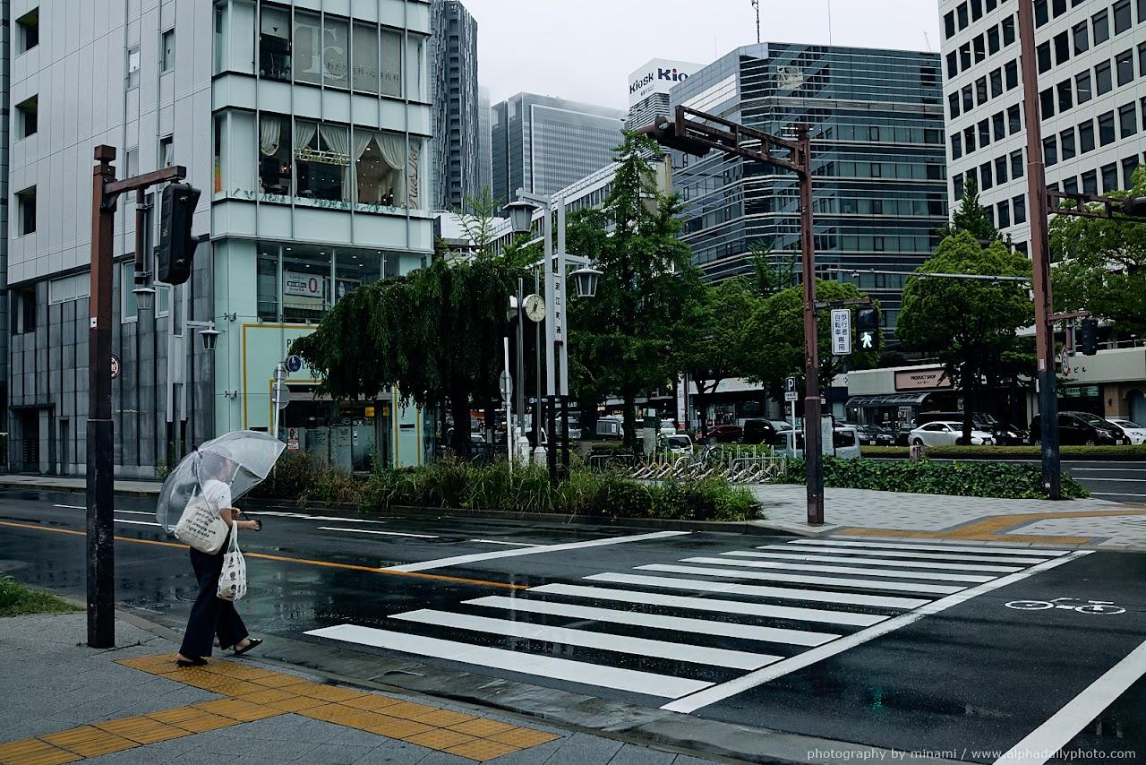 Rainy day in Nagoya