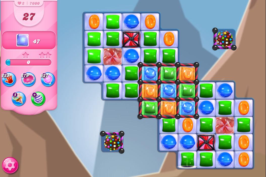 Candy Crush Saga level 7600