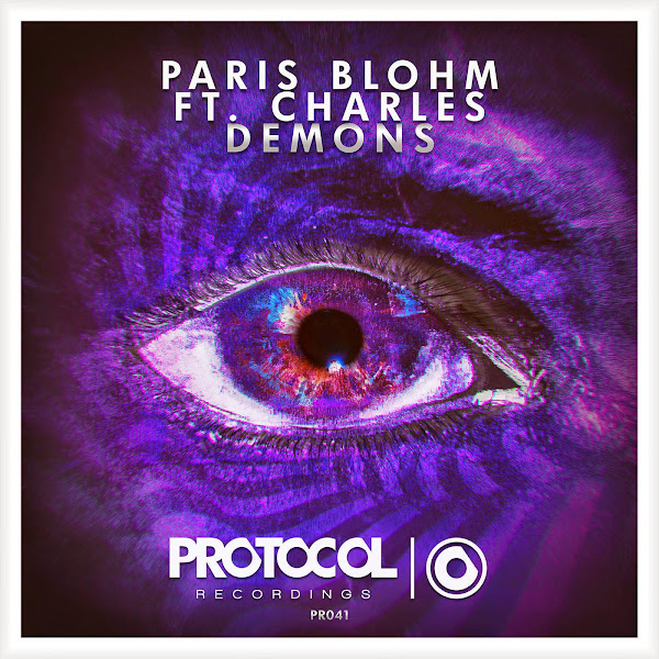 Paris Blohm - Demons (feat. Charles) - Single  Cover