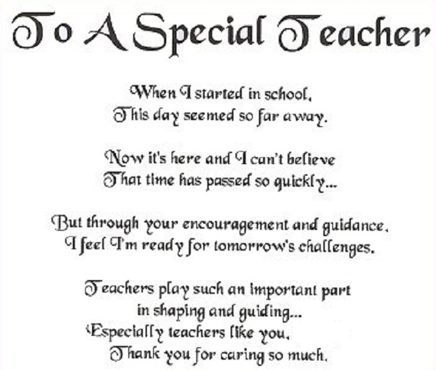 sample essay about teachers day