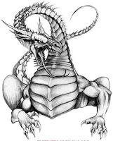 дракон в наколках значение