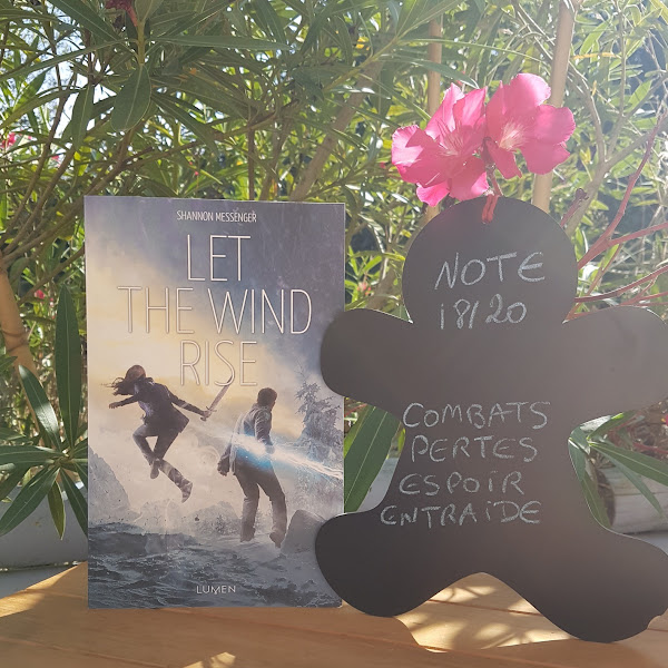 Let The Sky Fall, tome 3 : Let the Wind Rise de Shannon Messenger