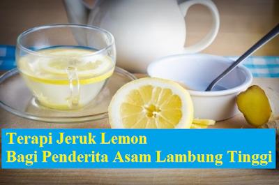 Cara Mengolah Lemon untuk Pengobatan Asam Lambung