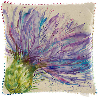 Voyage Expressive Thistle Cushion