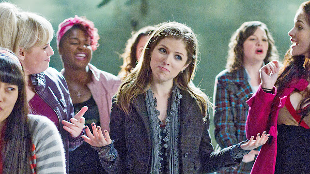 'PITCH PERFECT': HILARIOUS COMEDY ABOUT FRIENDSHIP CONNECTED BY MUSIC. A rebel joins a college a capella group. Review + content guide. Text © Rissi JC