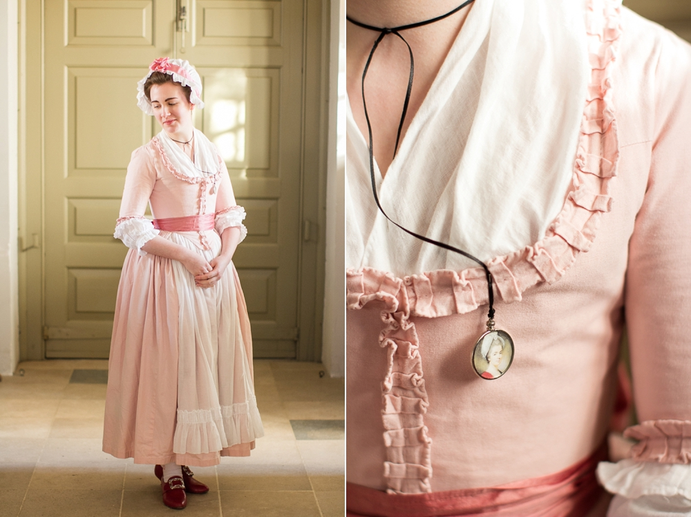 Mode De Lis: · Pink 1770s Round Gown