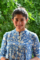 Sai Pallavi looks super cute in plain dress at her interview in Telugu about movie Fidaa ~ Exclusive Celebrities Galleries 008.JPG