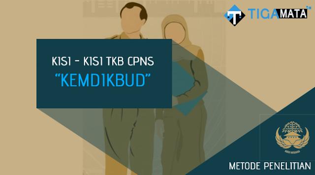 Kisi - Kisi TKB Metode Penelitian S1 dan S2 CPNS Kemdikbud