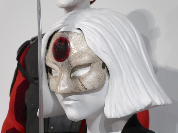 Katana Suicide Squad movie mask