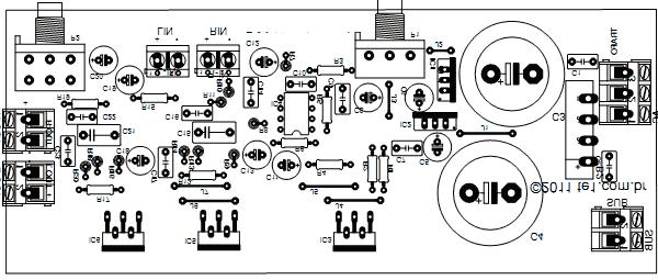 intex woofer 4 1 circuit diagram