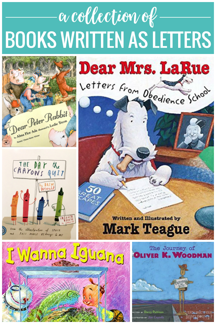 Who doesn't love mail? Your kiddos will love this book collection of stories told through letter format.  This format is perfect for making inferences and teaching inferring as students will have to piece together the story from pictures and what is written in the letters.