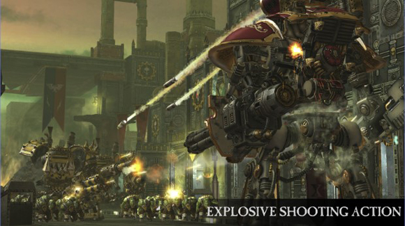 Warhammer 40,000 Freeblade Mod Apk + Data Unlimited Gold Terbaru