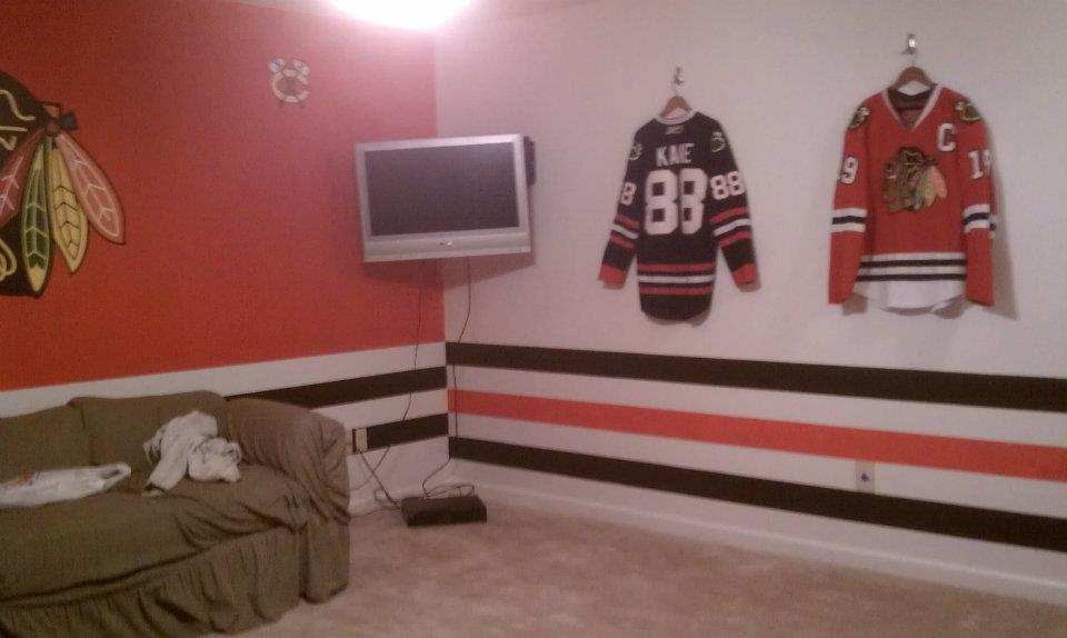 Come Hell Or High Waters Blackhawks Room