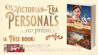 Kristin Holt | Victorian Era Personals... no privacy!