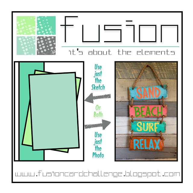 A New Challenge Begins Today At Fusion Card Challenge! Check Out The  Inspiration Photo! Looks Like Summer Fun At The BEACH!!! What Do You Love  About The ...