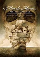 """Portada del libro """"Mal de mares"""", de Alberto Bermúdez"""
