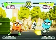 Gumball Vs Darwin Street Figther