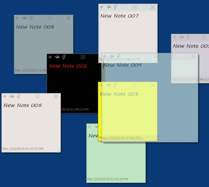 تحميل, برنامج, تسجيل, الملاحظات, اللاصقة, على, سطح, المكتب, DesktopNoteOK
