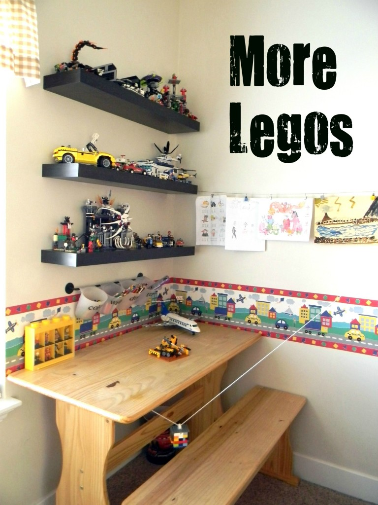 Room 2 Build Bedroom Kids Lego: 31 Days Of Organizing Tips: Day 21 (Kids' Bedrooms)